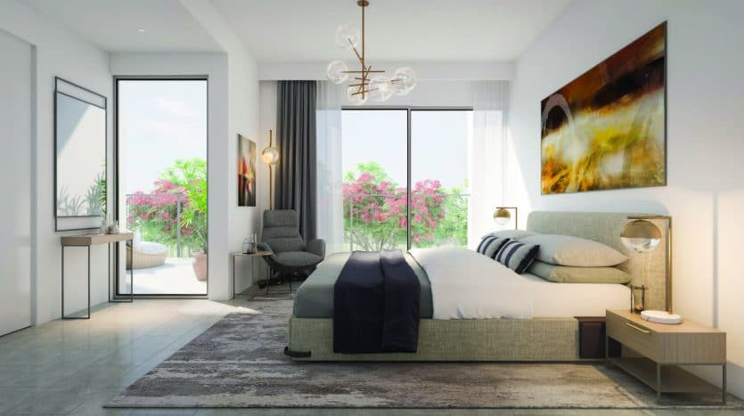 4 Bed Townhouse Master Bedroom
